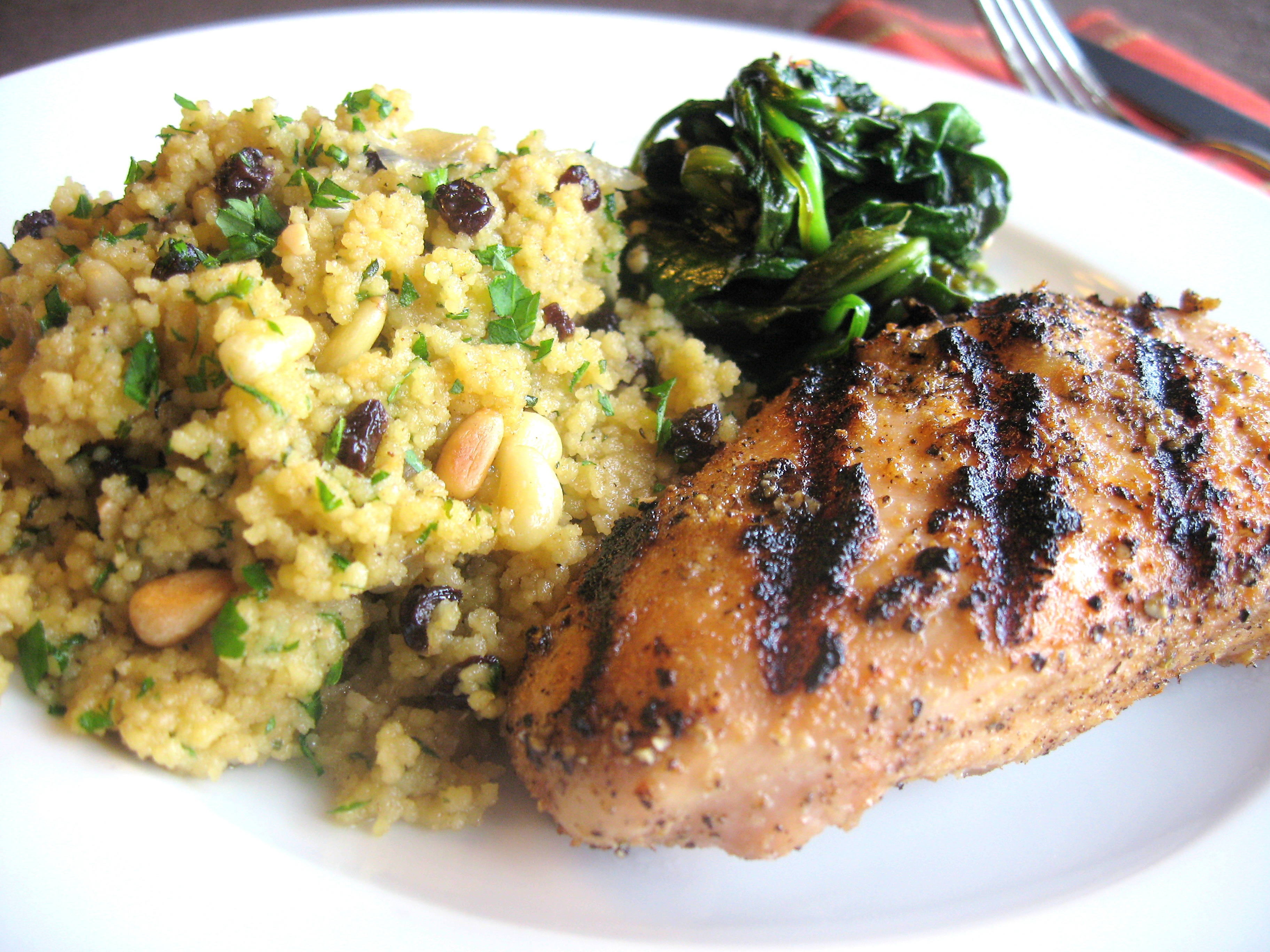 Couscous with Currants and Pine Nuts | Jacob's Kitchen