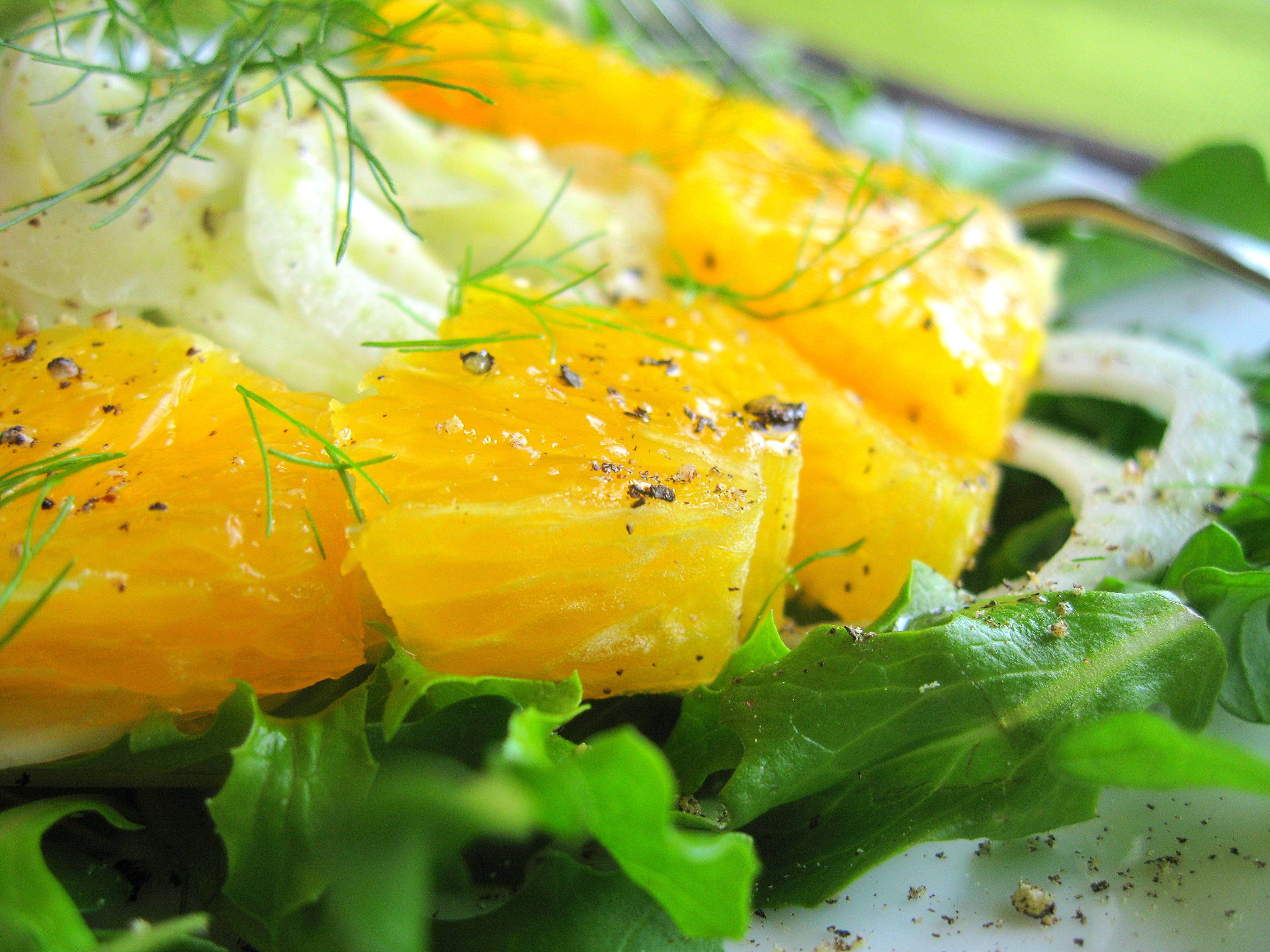 Shaved Fennel and Orange Salad | Jacob's Kitchen