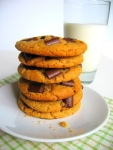 peanut butter chocolate chunk cookies 1b